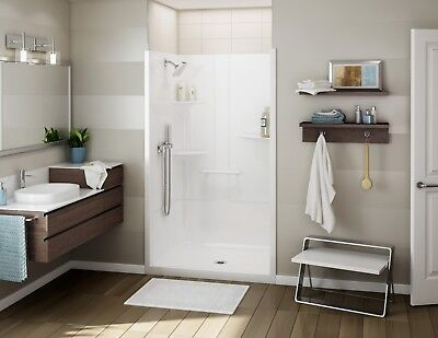 "MAAX 48"" x 34"" x 79""ALLIA SH-4834 1-In smithereens ACRYLIC ALCOVE SHOWER UNIT 107005"