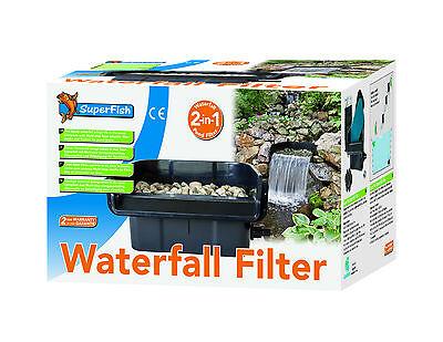 SF Wasserfall-Filter Kaskade 42 cm komplett mit Filtermedien
