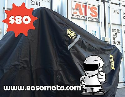 2xBULLETPROOF QUALITY Best motorcycle cover on the market -inc w compression