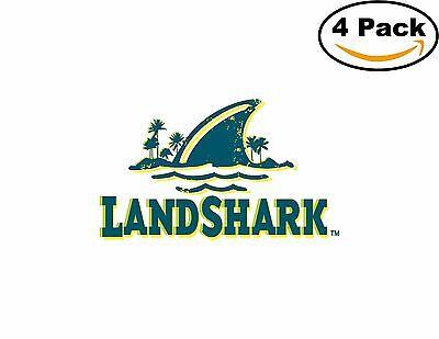 Landshark Decal Diecut Sticker 4 Stickers