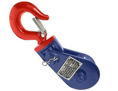 Snatch Block 2 Ton 3 W Hook 3 Sheave For 38 Wire Rope Wrecker Recovery Tow