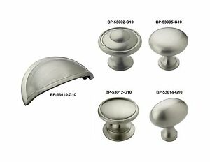 Amerock Satin Nickel Drawer Cabinet Hardware Knobs Bin Pulls