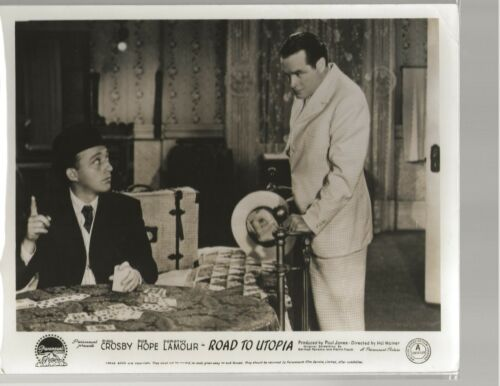Road to Utopia 8 x 10 English FOH Lobby Card 1945 Bing Crosby, Bob Hope