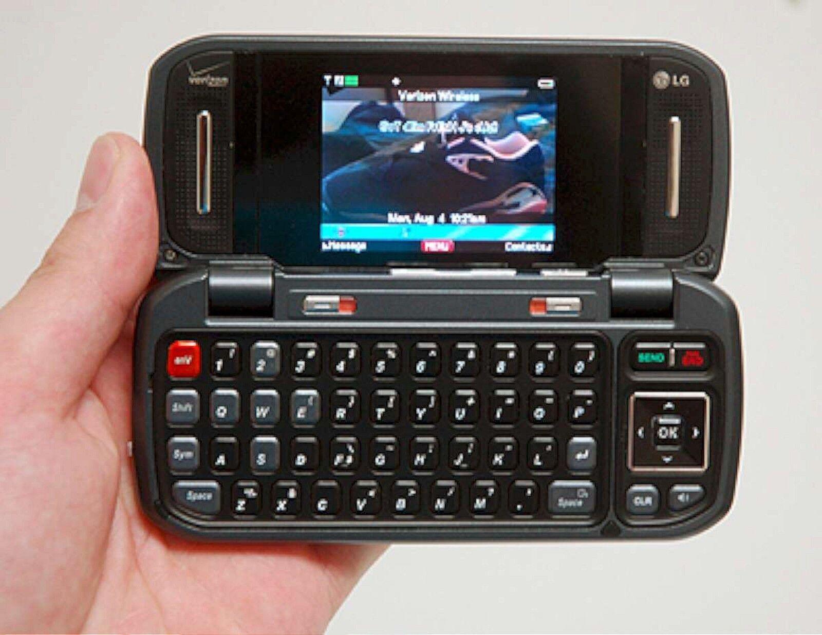lg env vx9900 verizon wireless cell phone vx 9900 silver keyboard rh ebay com LG enV2 Phone LG enV2 Phone