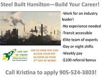 WORK FOR ONE OF THE BEST COMPANIES IN HAMILTON!