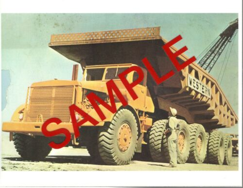 Photo - Euclid Dump Truck, Western Contracting.
