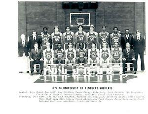 1977-1978-NATIONAL-CHAMPS-KENTUCKY-WILDCATS-8X10-TEAM-PHOTO-VINTAGE-BASKETBALL
