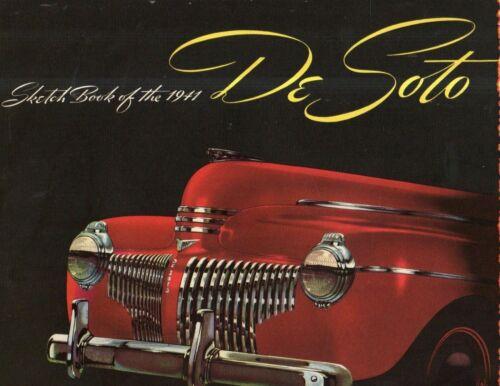 1941 DeSoto Sales Catalog, from the dealer