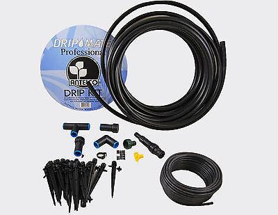 Tree Shrub Professional Complete Full Drip Kit Garden Irrigation - Easy To