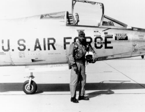 1967 Photo-Robert H. Lawrence Jr.-First African American Astronaut Candidate