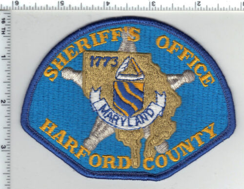 Harford County Sheriff (Maryland) uniform take-off shoulder patch from 1990