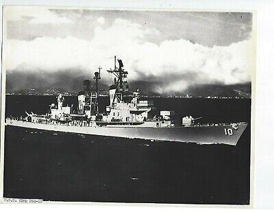 USS KING DL10-DLG10-DDG41 Custom Personalized Print of US Navy Gift Idea