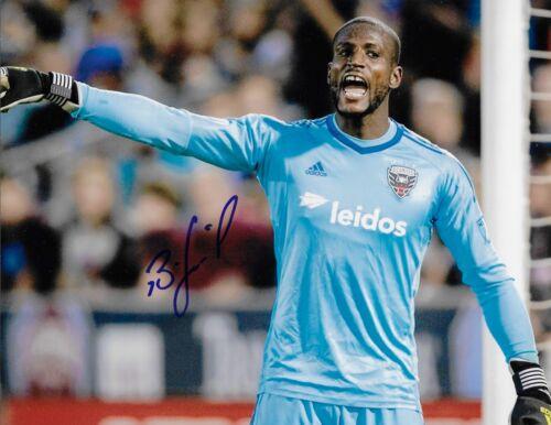 Bill Hamid Signed 8x10 Photo DC United Goalie MLS Autograph COA