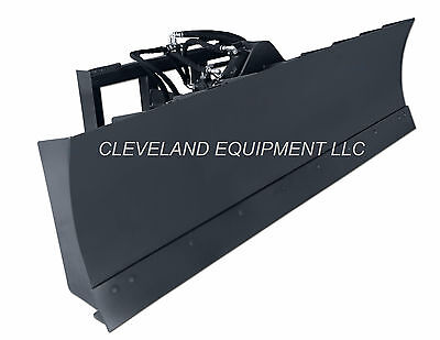 New 96 6-way Dozer Blade Attachment Skid-steer Track Loader Bobcat Kubota Terex