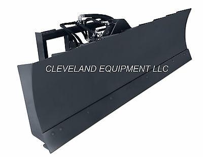 New 84 6-way Dozer Blade Attachment Skid-steer Track Loader Bobcat Caterpillar