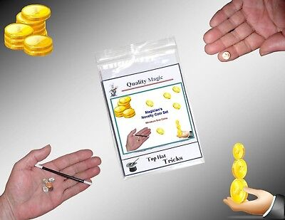 Magician's NOVELTY COIN SET (Mini) - Magic Supplies! (Magic Supplies)