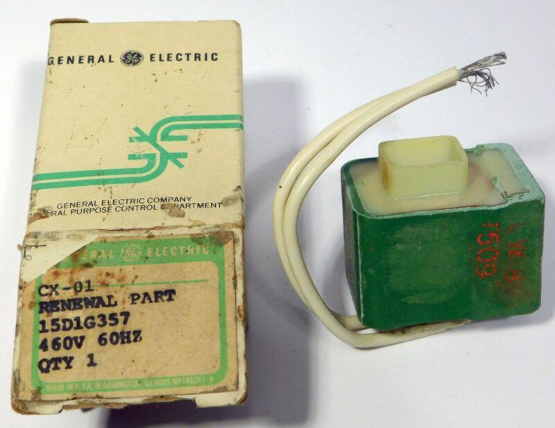 GE Controls General Electric Coil 15D1G357 460V @ 60Hz NOS NIB