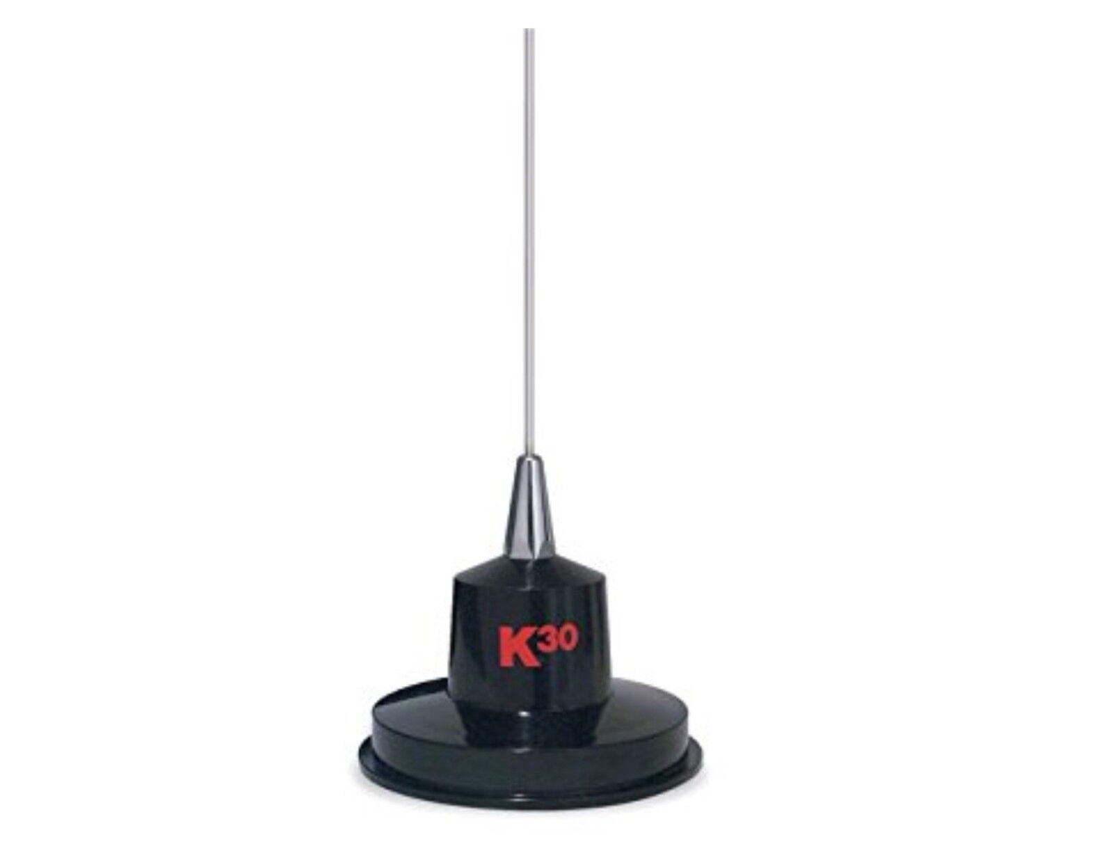 "K40 K30 35"" Magnet Mount Stainless Steel CB Radio Antenna, 3"