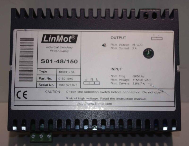 LinMot Power Supply S01-48/150 0150-1940 ++