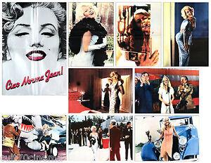 CIAO-NORMA-JEAN-SET-FOTOBUSTE-8-SOGG-1976-MARILYN-MONROE-BIOGRAPHY-LOBBY-CARD