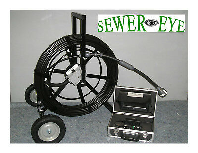 Sewereye Sewer Cameras Color Sewer Pipe Video Inspection Camera System