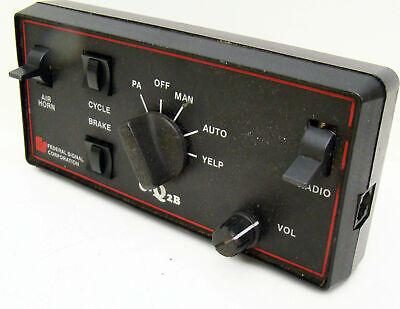 Federal Signal E-q2b Eq2b Siren Amp Control Head Lot B