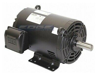 New 2 Hp 145t 3 Phase Weg Electric Motor Air Compressor 1740 Rpm 208-230460
