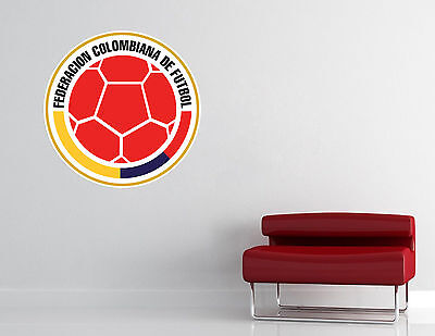 Colombian National Soccer Team Wall Decal Vinyl Sticker Decor EXTRA LARGE L21