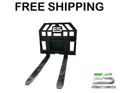 48 Toro Dingo Pallet Fork Attachment Mini Skid Ditch Witch- Free Shipping