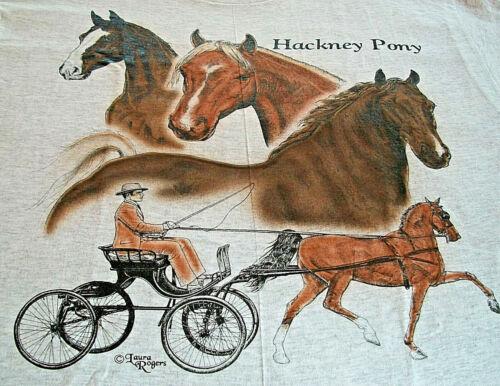 "Hackney Pony T-shirt  "" Ash "" LG ( 42 ~ 44 )"