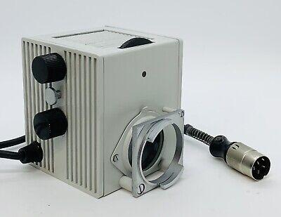 Leitz 50 Watt Lamp House Hbo Microscope Lamphouse For Diavert Ergolux Ortholux