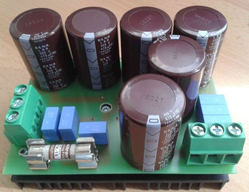 Rectifier 0-300V AC/15A.
