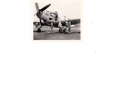 Douglas Skyraider A-1E Naf Mtclemens MI Navy Fighter Aircraft 4x5