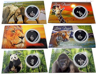 Love Pearl Wish Pearl Kit Necklace Gift Box Jewelry Wild Animals Gift Box