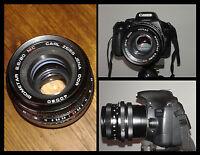 Biometar Carl Zeiss 80mm F 2.8 Per Canon Eos. Magnifica Lente - canon - ebay.it