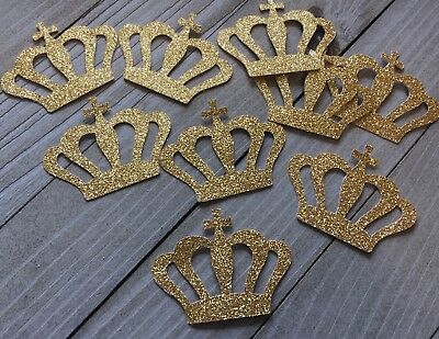Royal Prince/princess Crown Confetti, Royal Baby Shower, Royal Party, 50 Ct.