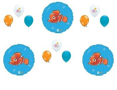 Finding Nemo 12 pc. Birthday Party Balloons Decoration Supplies Dory Disney