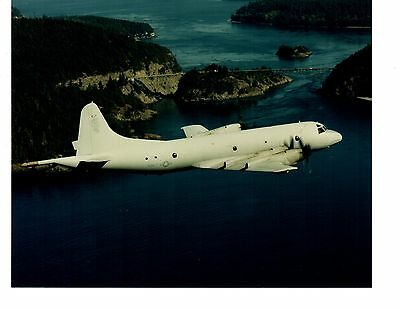 Orion Collection Bridge (Lockheed Orion P3 VP46 Navy Aircraft Photo 8x10 Deception Pass Bridge Oak)