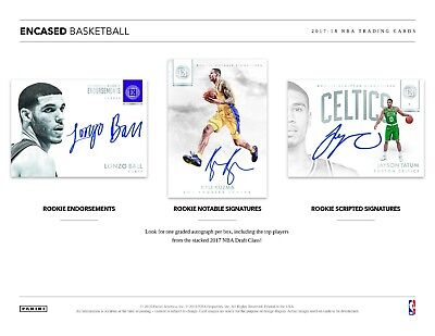 INDIANA PACERS 2017-18 PANINI ENCASED BASKETBALL 4 BOX HALF CASE BREAK #14