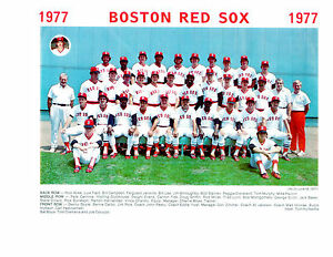 1977-BOSTON-RED-SOX-8X10-TEAM-PHOTO-BASEBALL-FENWAY-HOF-USA-YASTRZEMSKI-RICE