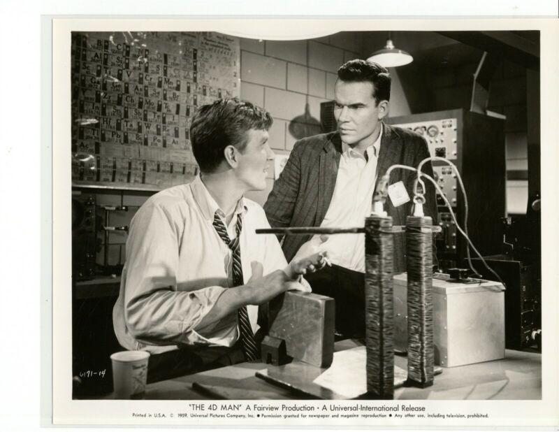 4D MAN 1959 #14 Robert Lansing, James Congdon ORIGINAL SNIPE science fiction