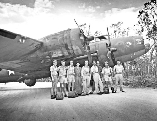 1942-B-17E FLYING FORTRESS-19th Bomb Group & Aircrew in Northern Terr Australia