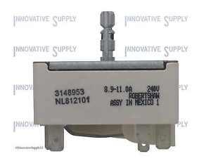 3148953 for Whirlpool Range Burner Infinite Control Switch PS336886 AP3029710