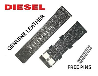 Original DIESEL Watch Strap/ Band BLACK 26mm DZ1657 DZ4208 DZ4223 DZ4344 DZ4422