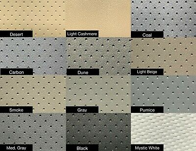 1959 59 1960 60 CADILLAC COUPE DEVILLE PERFORATED VINYL HEADLINER / COLORS / NEW Cadillac Deville Vinyl