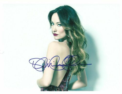 """OLIVIA WILDE - """"LOOKING BACK"""" Signed / Autographed 8x10 COA #213100"""