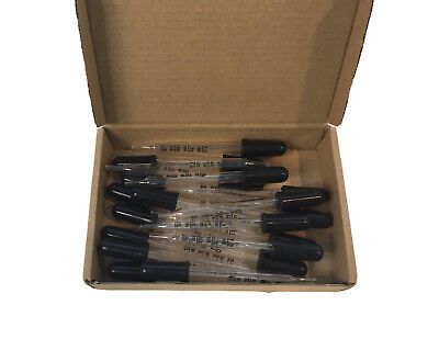 Tecunite Glass Liquid Dropper 1 Ml Calibrated Essential Oil Dropper Pipette X20