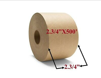 Brown Paper Tape 2.34 X 500 Reinforced Packaging Packing Tape