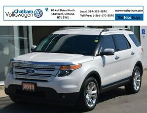 2011 Ford Explorer AWD Navigation Heated and Cooled Leather Seats