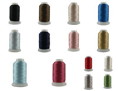 Beadsmith 100  Pure Silk Thread Cord 14 Colors   Size A B C D E F Ff Fff 0 00